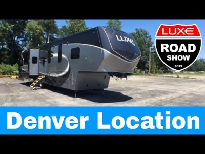 Touch and Feel a Real Luxe luxury fifth wheel near Denver